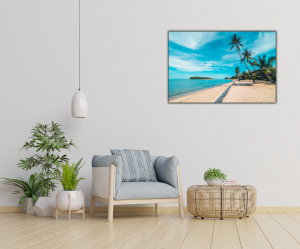 Tablou modern pe panou - beautiful tropical beach2