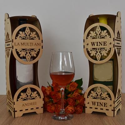 Cutie de vin personalizata - CDV0022