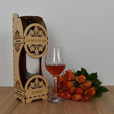 Cutie de vin personalizata - CDV0020