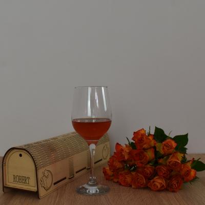 Cutie de vin personalizata - CDV0041