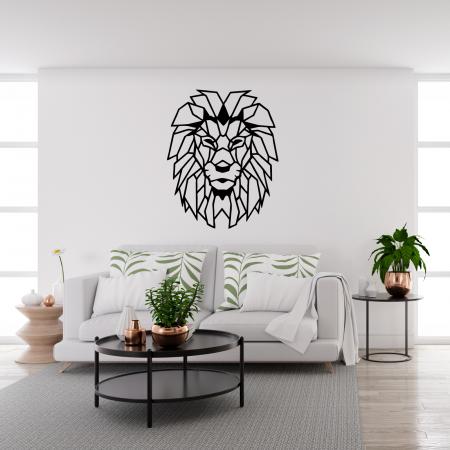 Decoratiune perete - Geometric lion1