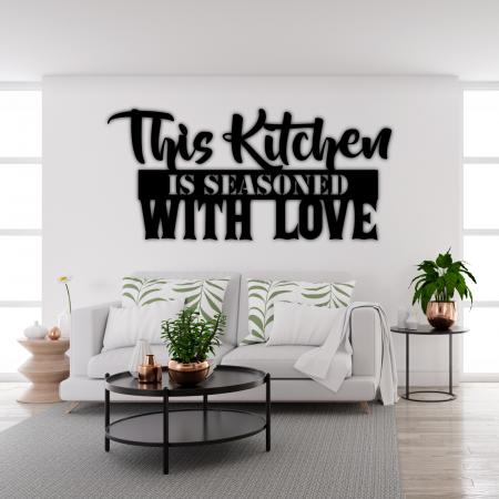 Decoratiune perete - Condimentat cu dragoste [1]