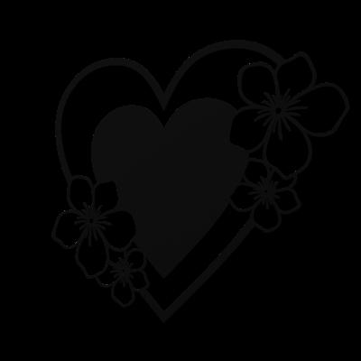 Decoratiune perete - Inima infloritoare [0]