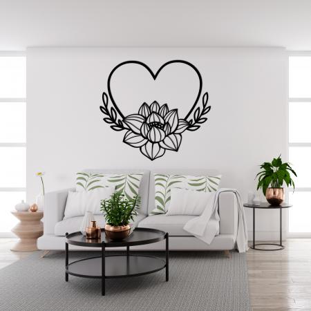 Decoratiune perete - Lotus si iubire [1]