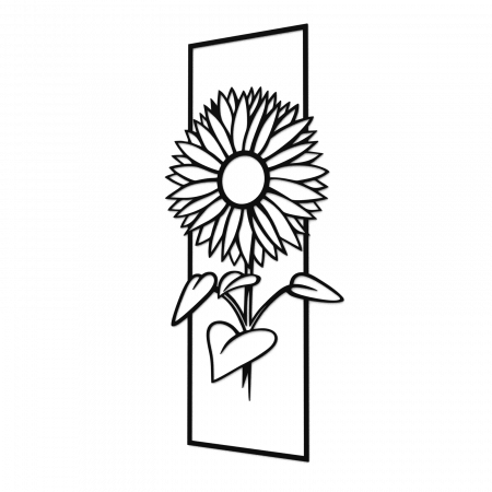 Decoratiune perete - Sunflower0