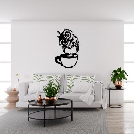 Decoratiune perete - Baykus1