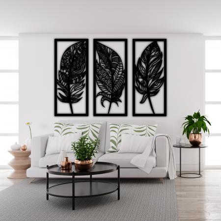 Set 3 decoratiuni perete - Pene [1]