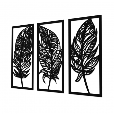 Set 3 decoratiuni perete - Pene [0]