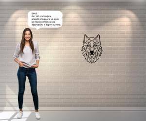 Decoratiune perete - Wolf2