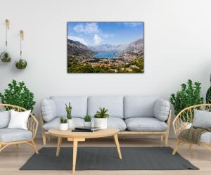 Tablou modern pe panou - Bay of Kotor1