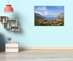 Tablou modern pe panou - Bay of Kotor4