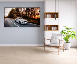 Tablou modern pe panou - luxury sport sedan4