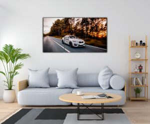 Tablou modern pe panou - luxury sport sedan1