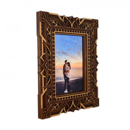Rama foto mandala din lemn - RFS005 [1]