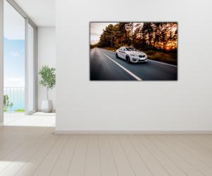 Tablou modern pe panou - luxury sport sedan3