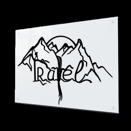 Tablou art line din sticla acrilica - Travel Mountains0