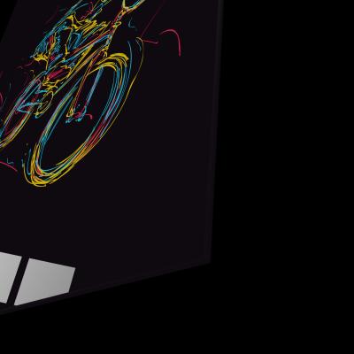 Tablou din sticla acrilica - bmx rider1
