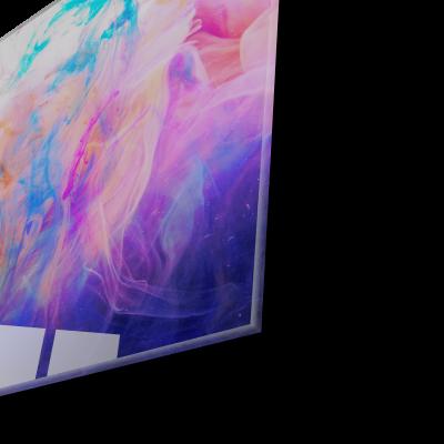 Tablou din sticla acrilica - Valuri de culori [1]