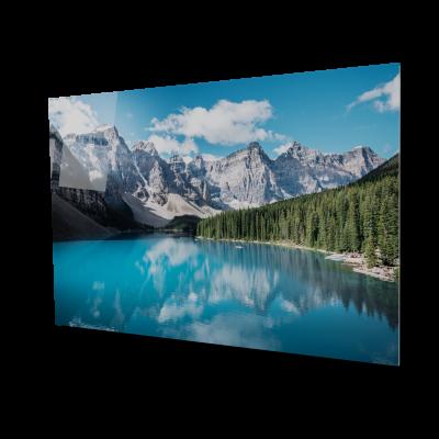 Tablou din sticla acrilica - beautiful Canada lake0