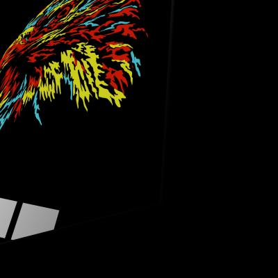 Tablou din sticla acrilica - abstract eagle1