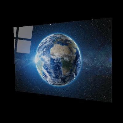 Tablou din sticla acrilica - planet earth0