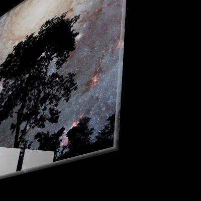 Tablou din sticla acrilica - Galaxie spirala [1]