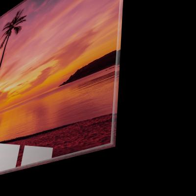 Tablou din sticla acrilica - tropical beach1