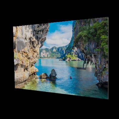 Tablou din sticla acrilica - tropical view0