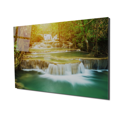 Tablou din sticla acrilica - waterfall0