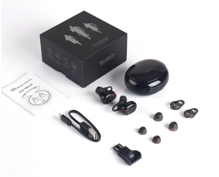 Casti Bluetooth Wireless Last Impact®, Bluetooth 5.0, Audio In-Ear, Handsfree, Compatibile Android & iOS 2