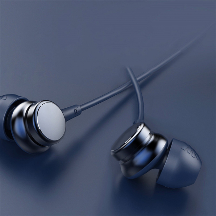 Casti cu fir HM9 Last Impact, In-Ear,Microfon incorporat,Bass profund, Jack 3.5 mm 2