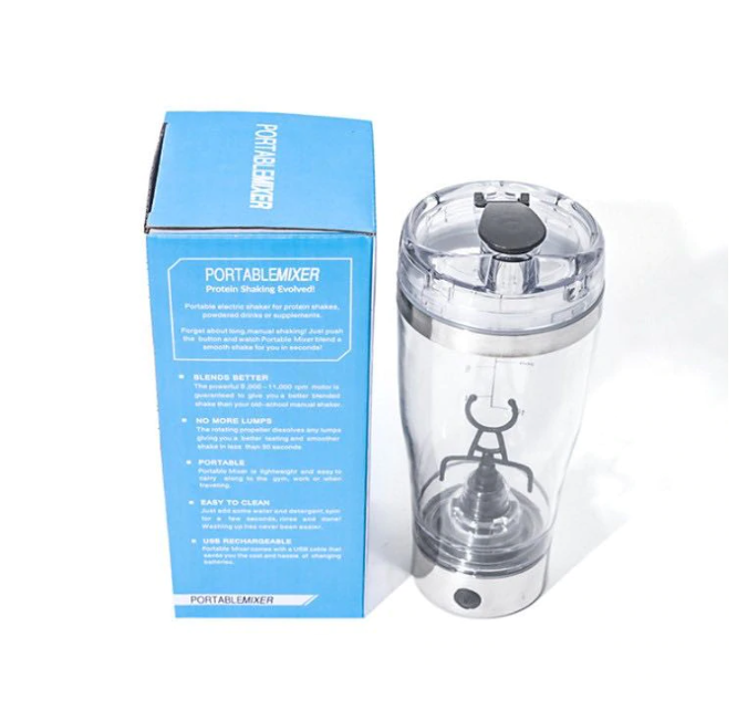 Shaker Vortex Electric Last Impact, Portabil , Capacitate 600 ml, Usb Charge 3