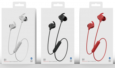 Casti Bluetooth Wireless B1 Last Impact®, Bluetooth 5.0, Audio In-Ear, Control Volum, Microfon Incoporat, Handsfree, Compatibile Android & iOS, Negru5