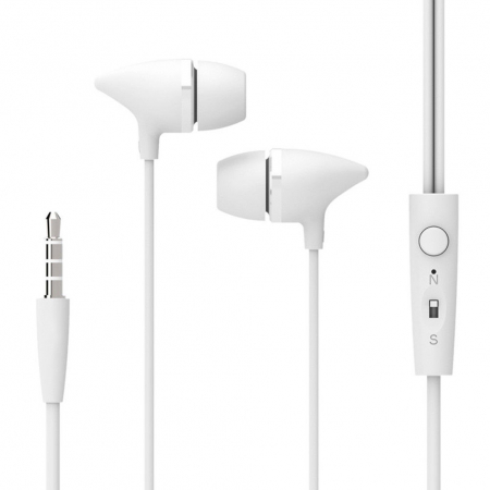 Casti cu fir C100 Last Impact, In-Ear,Microfon incorporat,Bass profund, Jack 3.5 mm0