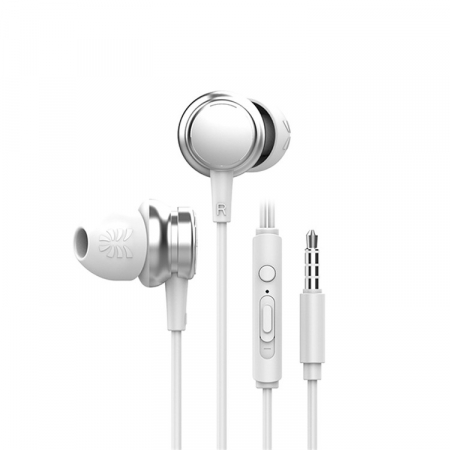 Casti cu fir HM9 Last Impact, In-Ear,Microfon incorporat,Bass profund, Jack 3.5 mm0