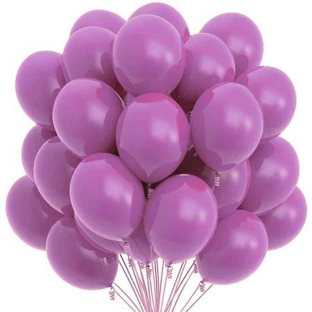 Set 100 baloane, mov, 25 cm 0