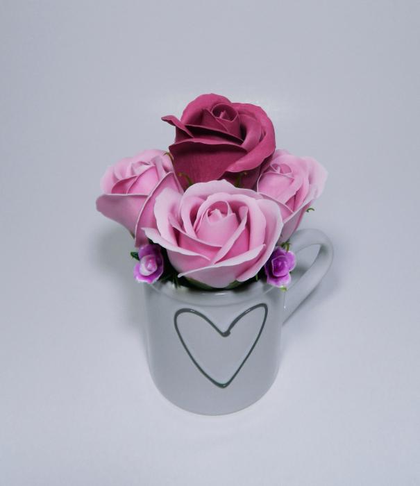 Aranjament Flori Sapun Parfumate in Cana 1