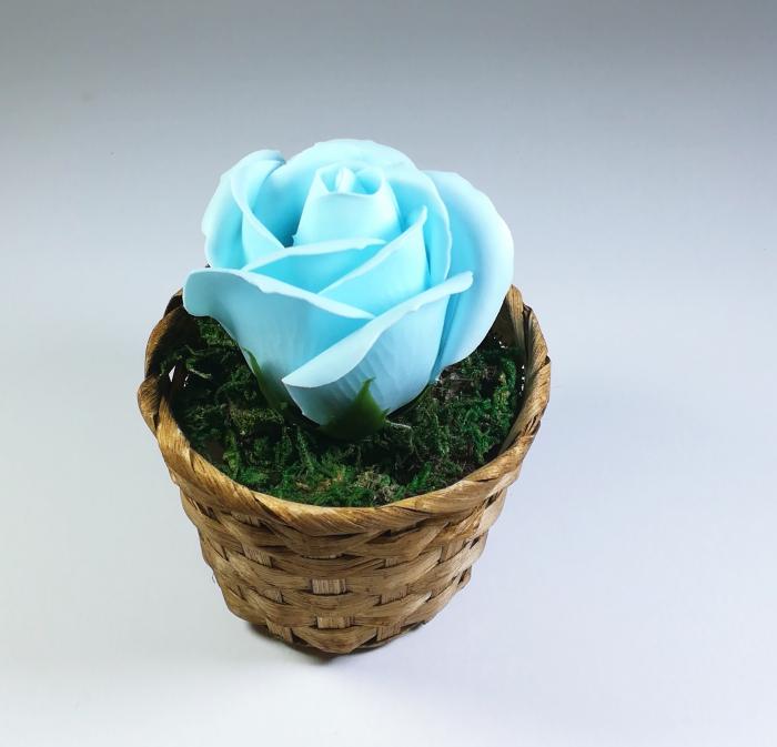 Aranjament Flori Sapun Parfumate in cosulet 0