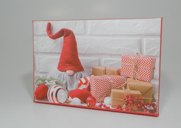 Cutie Cadouri Craciun cu model, Multicolor 16 x 7.5 x 11cm 1
