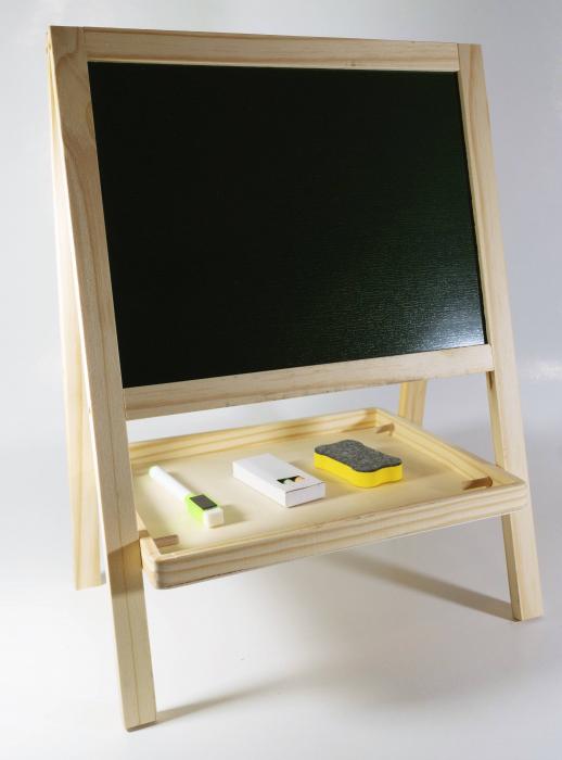 Tabla magnetica 2 in 1, litere + cifre + abac incluse 1