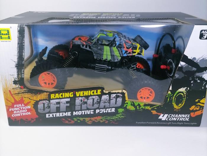Masina OFF ROAD Cu Telecomanda 4WD 1:18, Multicolor 1