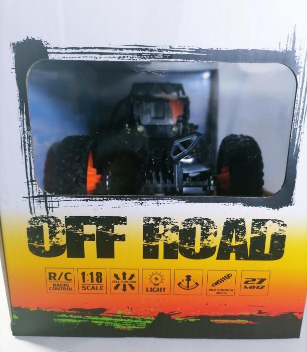 Masina OFF ROAD Cu Telecomanda 4WD 1:18, Multicolor 8