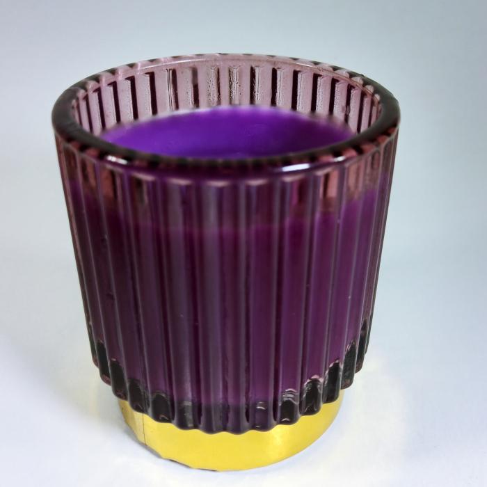 Lumanare decorativa parfumata, borcan 8cm [0]
