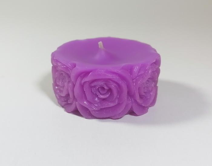Lumanare decorativa parfumata, cu aroma de Lavanda, 5 cm [0]