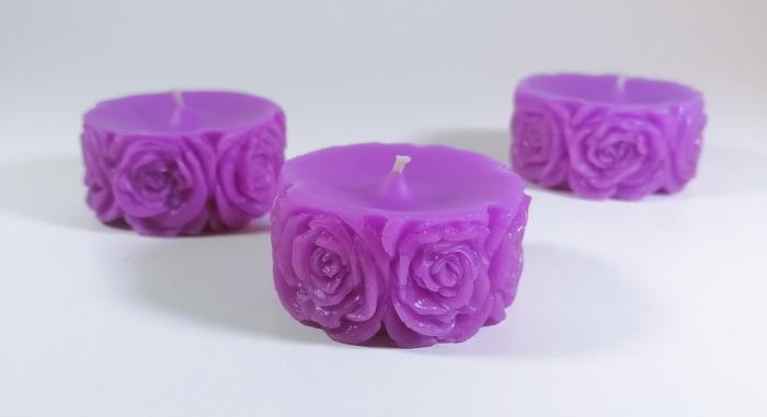 Lumanare decorativa parfumata, cu aroma de Lavanda, 5 cm [1]
