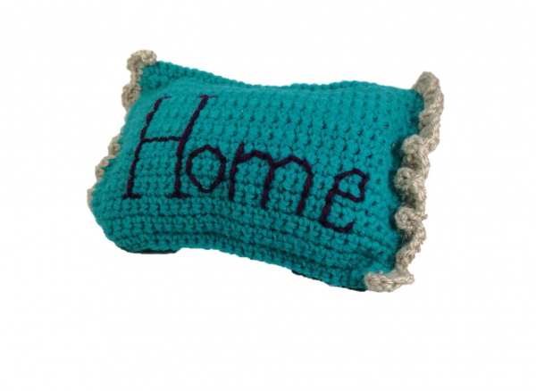 Pernuta crosetata, Home, umpluta cu lavanda 2