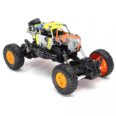 Masina OFF ROAD Cu Telecomanda 4WD 1:18, Multicolor0