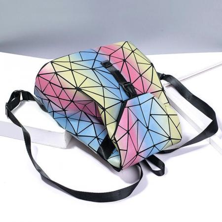 Rucsac dama Lady geometric, fosforescent Multicolor [1]