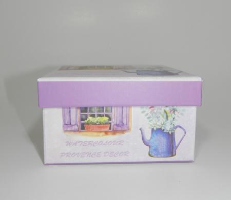Cutie cadou cu model, Multicolor, 12.5 x 12.5cm1