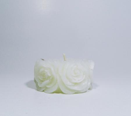 Lumanare decorativa parfumata, 5cm, Alb0